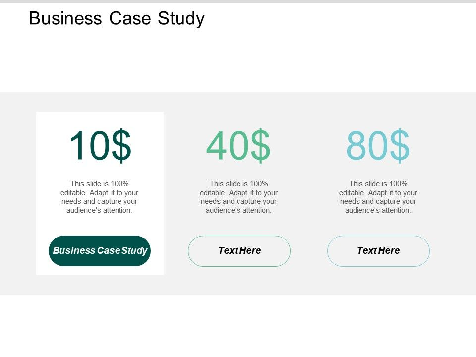 Business Case Study Ppt Powerpoint Presentation Icon Clipart Images Cpb