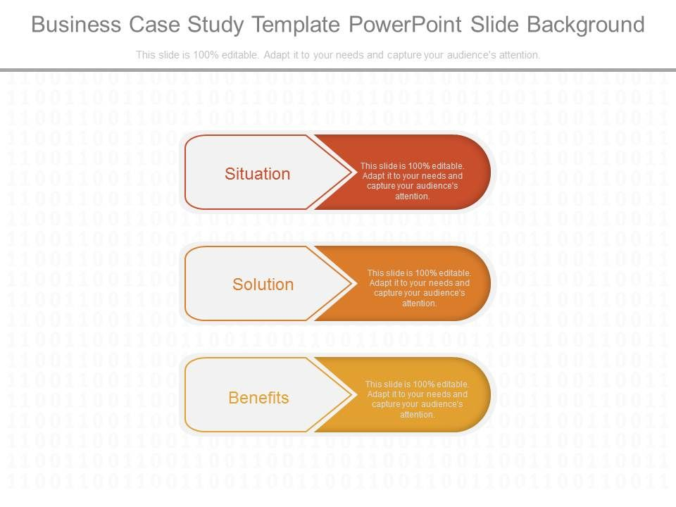 business case study template powerpoint slide background, Presentation templates