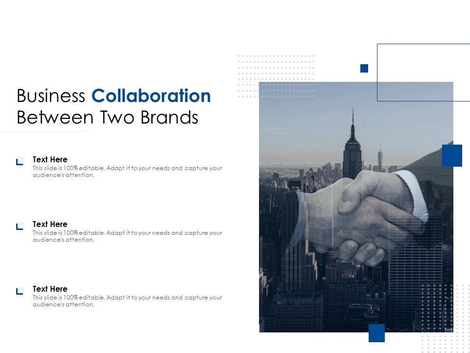 Business Collaboration Between Two Brands