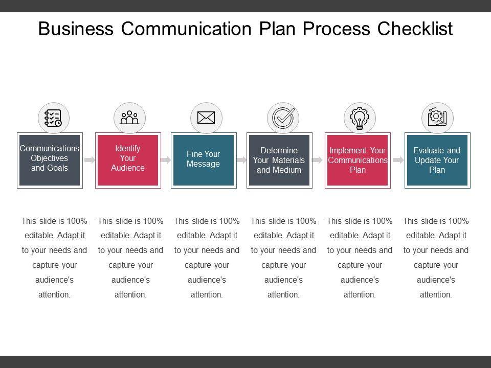 Business communication plan process checklist example of ppt businesscommunicationplanprocesschecklistexampleofpptslide01 businesscommunicationplanprocesschecklistexampleofpptslide02 accmission Images