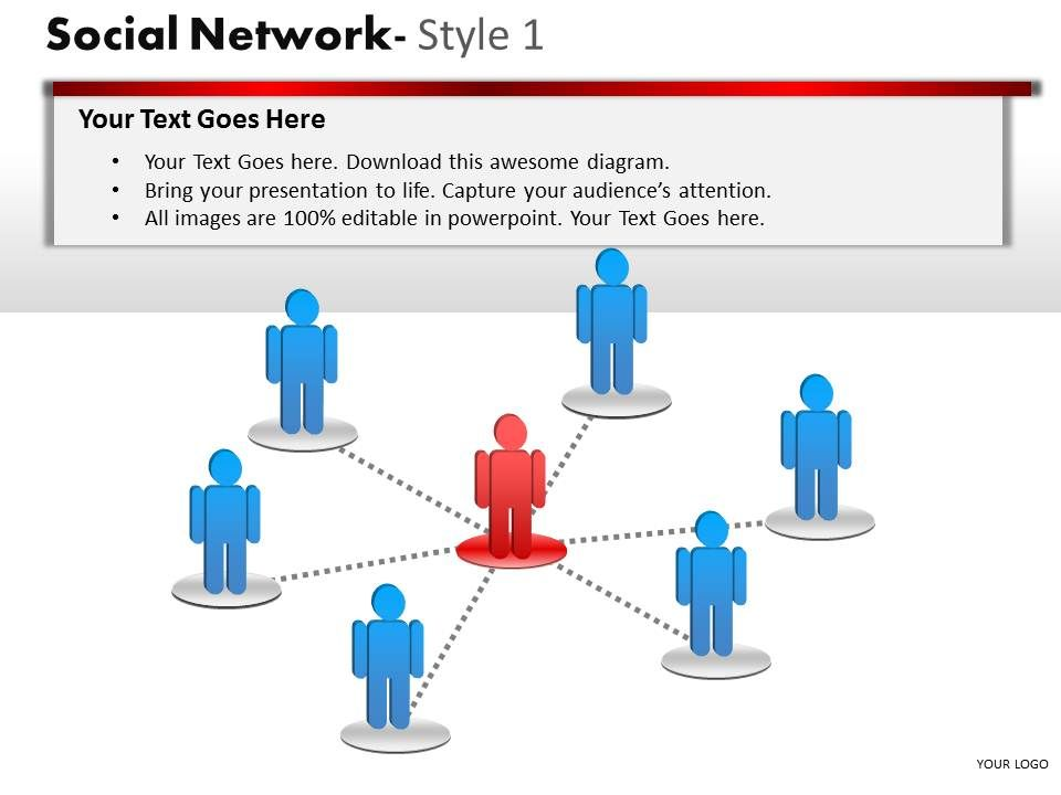 business_consulting_social_network_leader_team_connection_over_network_powerpoint_slide_template_Slide01