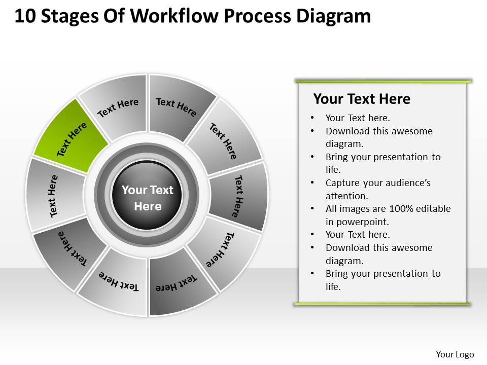 business context diagram workflow process powerpoint. Black Bedroom Furniture Sets. Home Design Ideas