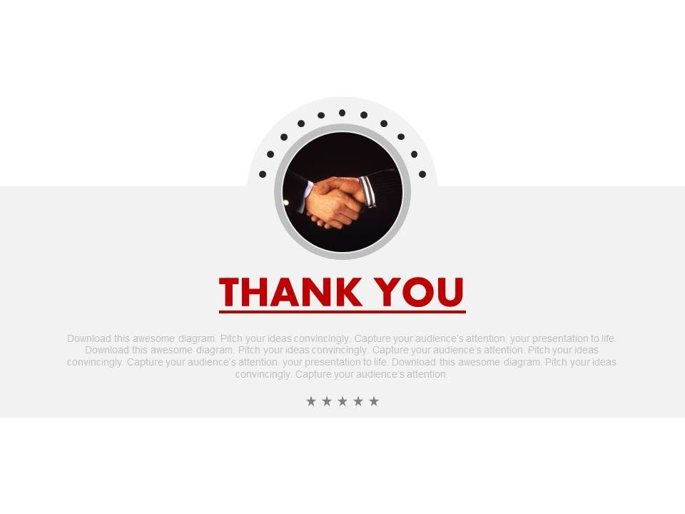 Business Deal With Thank You Note Powerpoint Slides | PowerPoint
