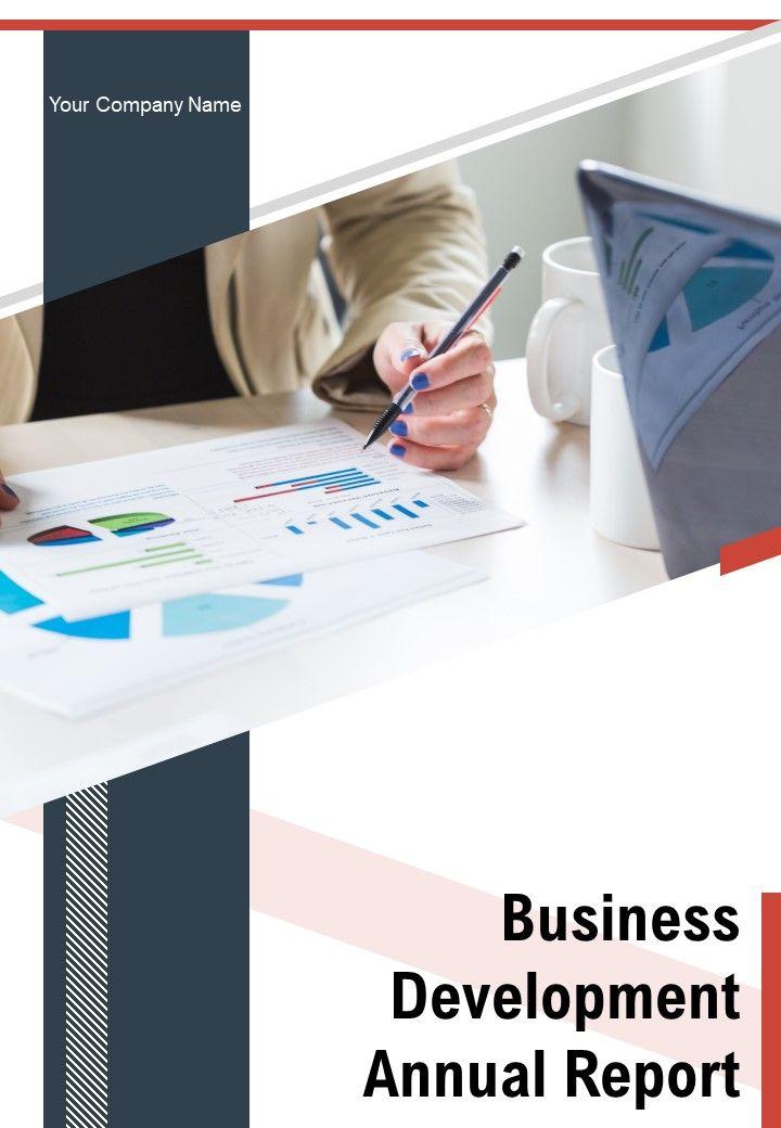 Business Development Annual Report PDF DOC PPT Document Report Template