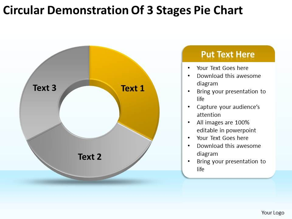 business_diagram_examples_circular_demonstration_of_3_stages_pie_chart_powerpoint_slides_Slide02