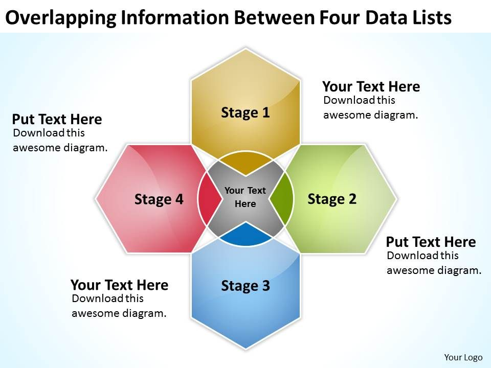 business_diagram_examples_overlapping_information_between_four_data_lists_powerpoint_templates_Slide01