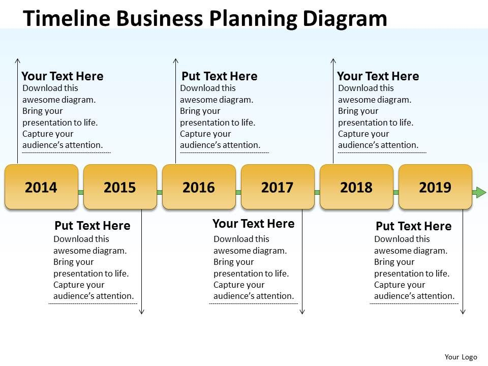 Business Diagram Examples Timeline Planning Powerpoint Slides