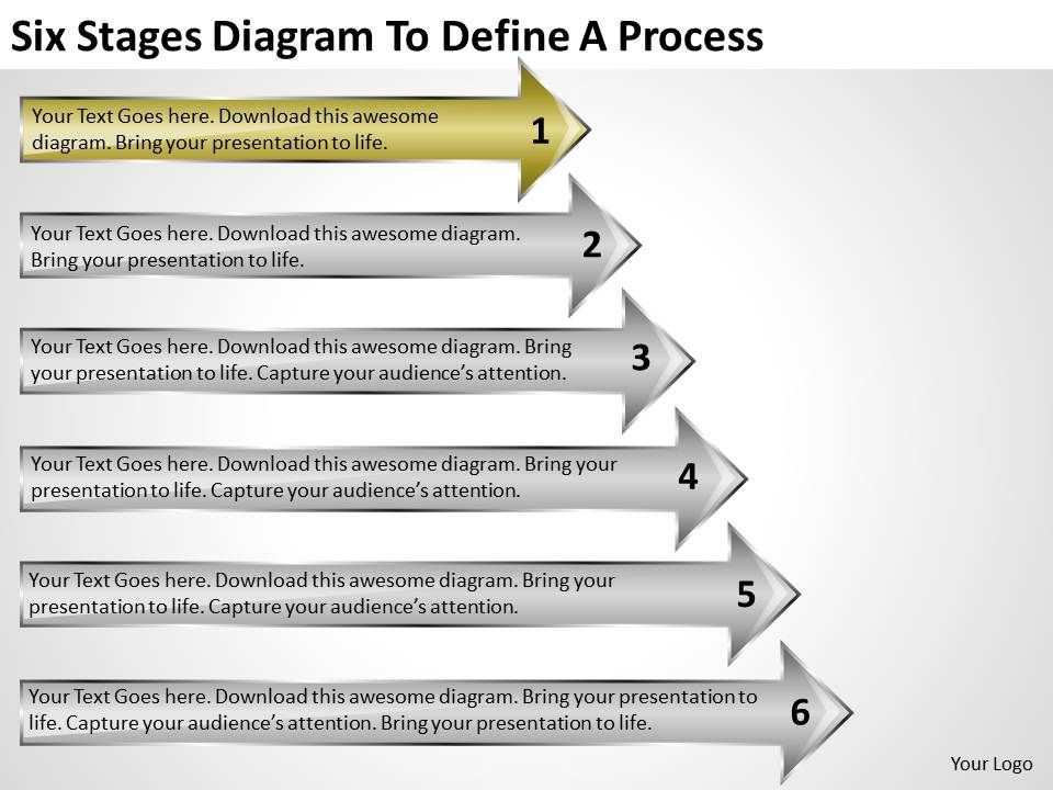 business diagrams to define process powerpoint templates ppt, Modern powerpoint