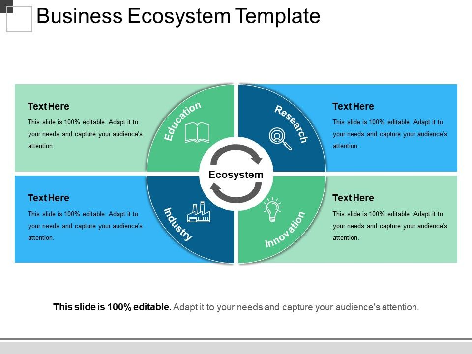Business Ecosystem Template Ppt Examples Slides Powerpoint Templates Designs Ppt Slide Examples Presentation Outline