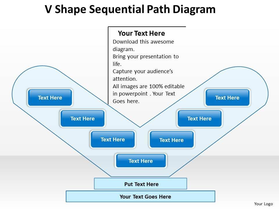 business_flowcharts_v_shape_sequential_path_diagram_powerpoint_templates_Slide01