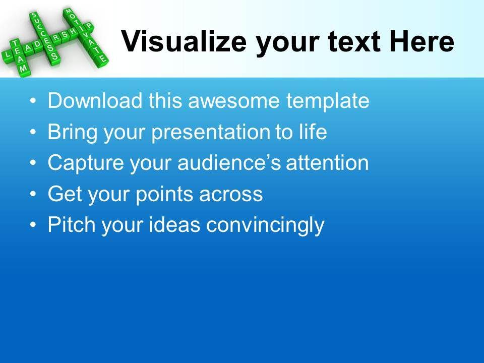 management team business plan ppt presentation