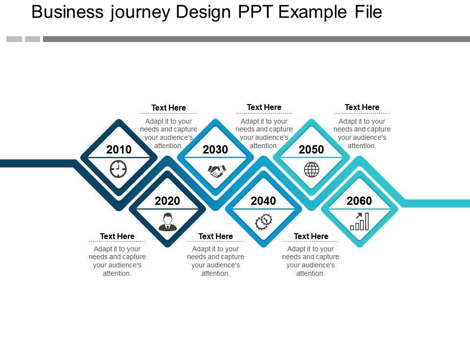 Business Journey Design Ppt Example File Templates Powerpoint Slides Ppt Presentation Backgrounds Backgrounds Presentation Themes