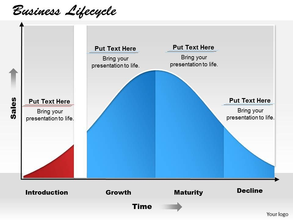Business Lifecycle Powerpoint Template Slide Powerpoint