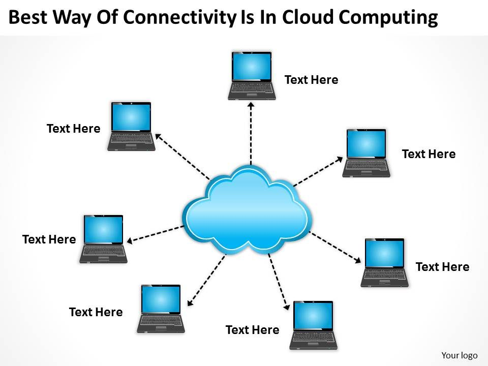 Business Management Consultant Cloud Computing Powerpoint ...