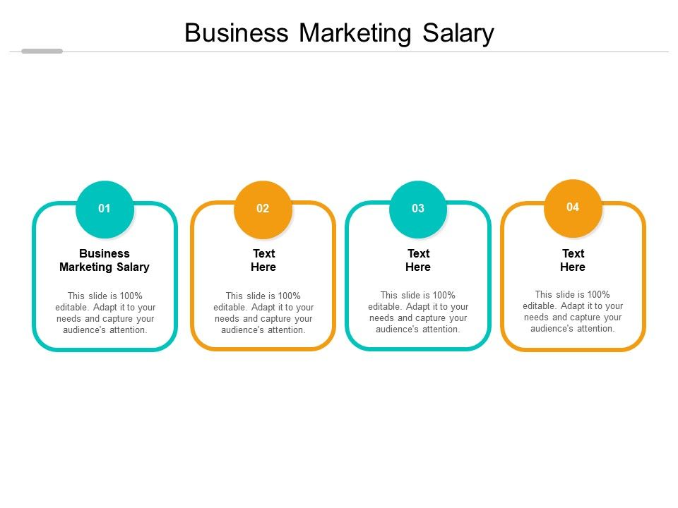 Business Marketing Salary Ppt Powerpoint Presentation Outline Slide Download Cpb