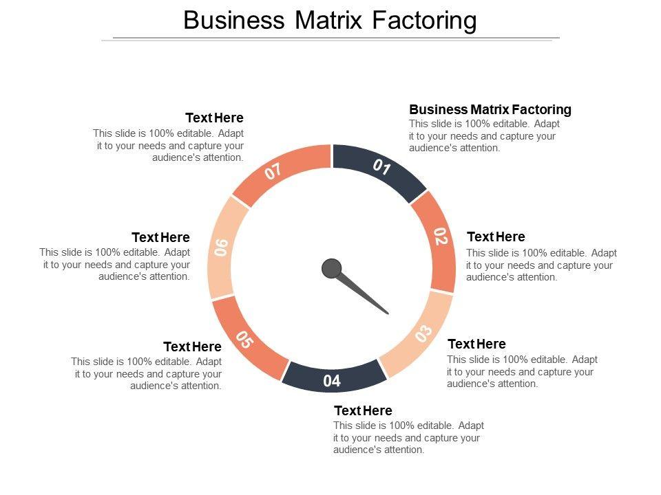 business_matrix_factoring_ppt_powerpoint_presentation_file_grid_cpb_Slide01