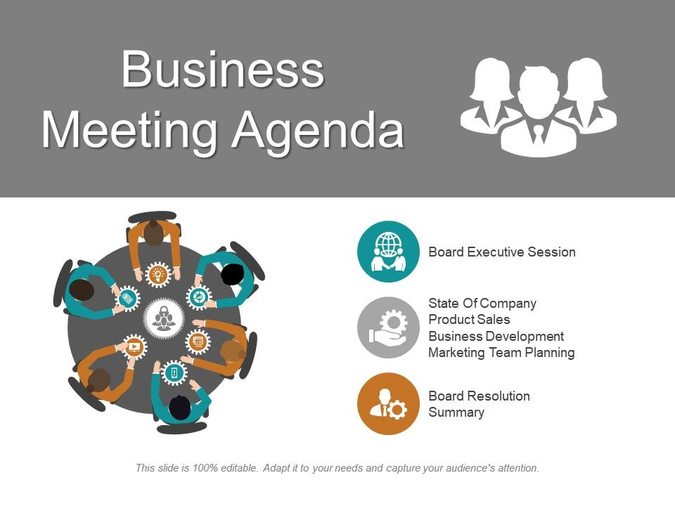 business meeting agenda ppt inspiration powerpoint slides diagrams