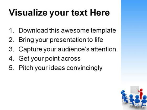 business meeting people powerpoint template 0810 presentation themes