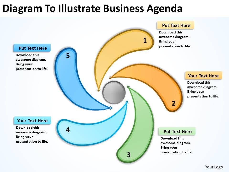 business_model_diagram_to_illustrate_agenda_powerpoint_templates_Slide01