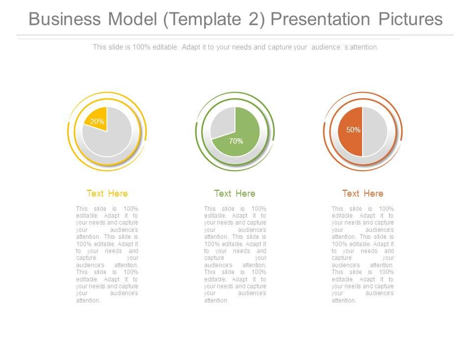 Business Model Template  Ppt Sample Presentations  Graphics
