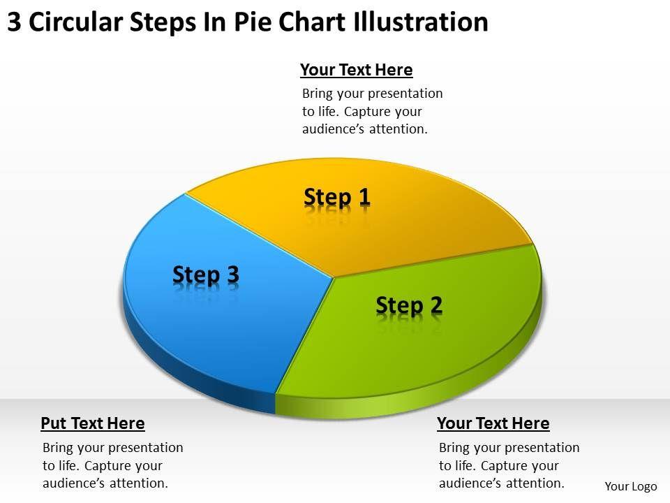 business_network_diagram_3_circular_steps_pie_chart_illustration_powerpoint_slides_Slide01