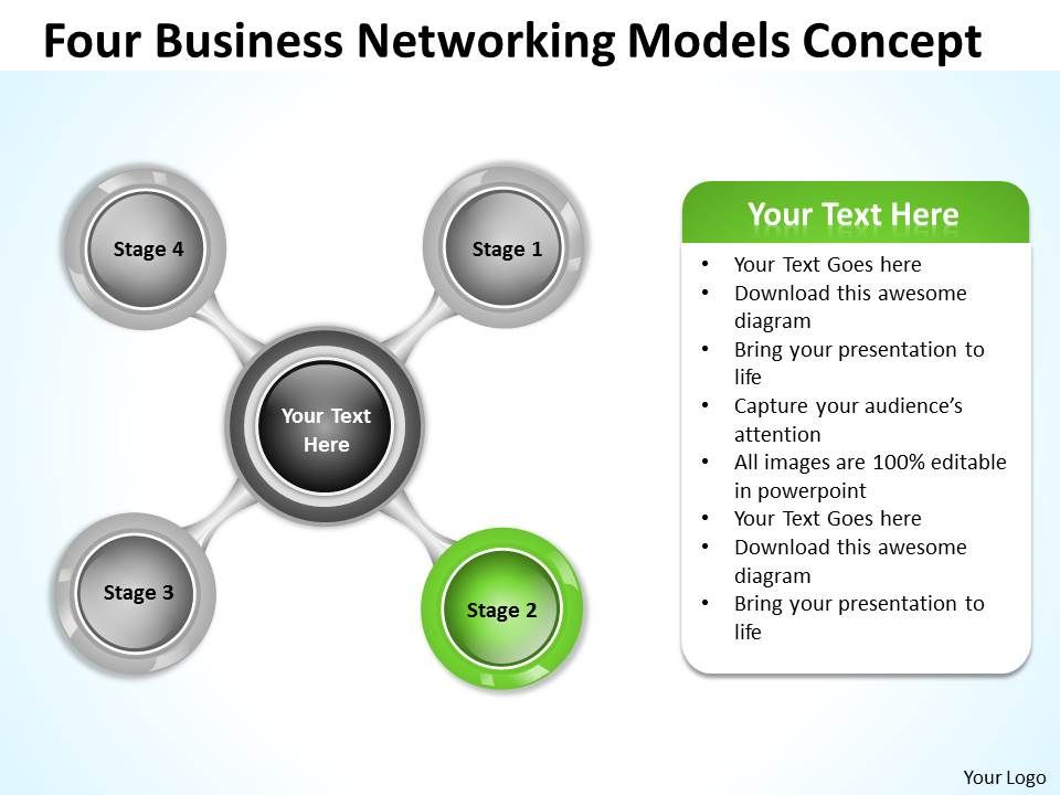 Business Network Diagram Networking Models Concept ...