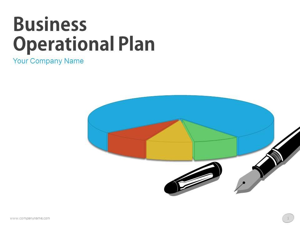 Business Operational Plan PowerPoint Presentation With Slides - Business operating plan template