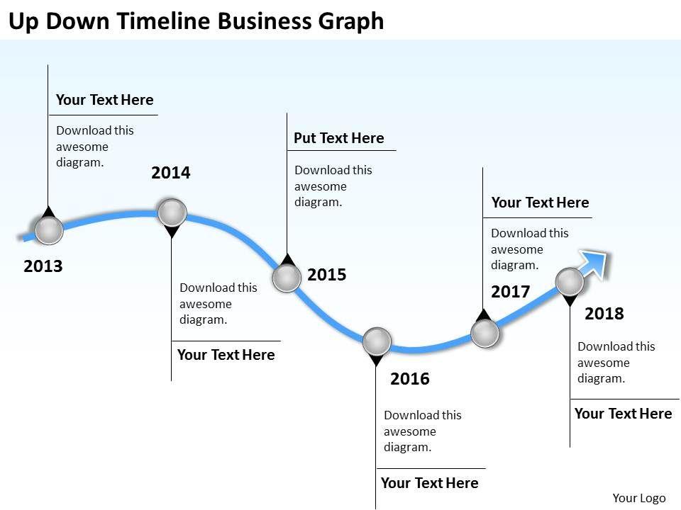 Business Organizational Chart Template Graph Powerpoint Templates