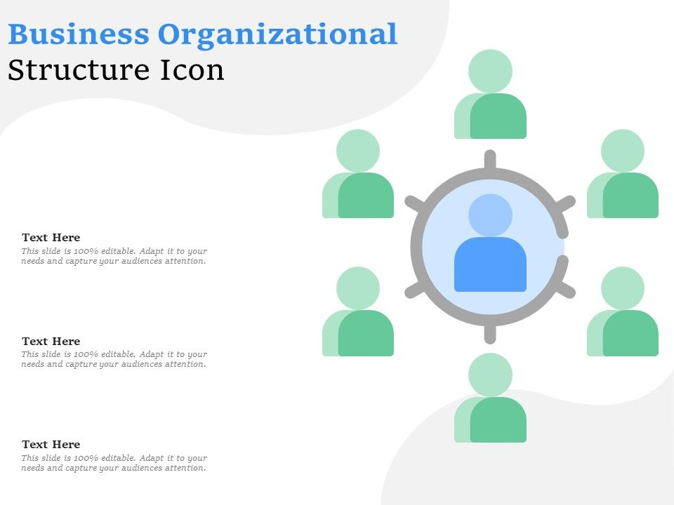 business organizational structure icon powerpoint slide images ppt design templates presentation visual aids business organizational structure icon