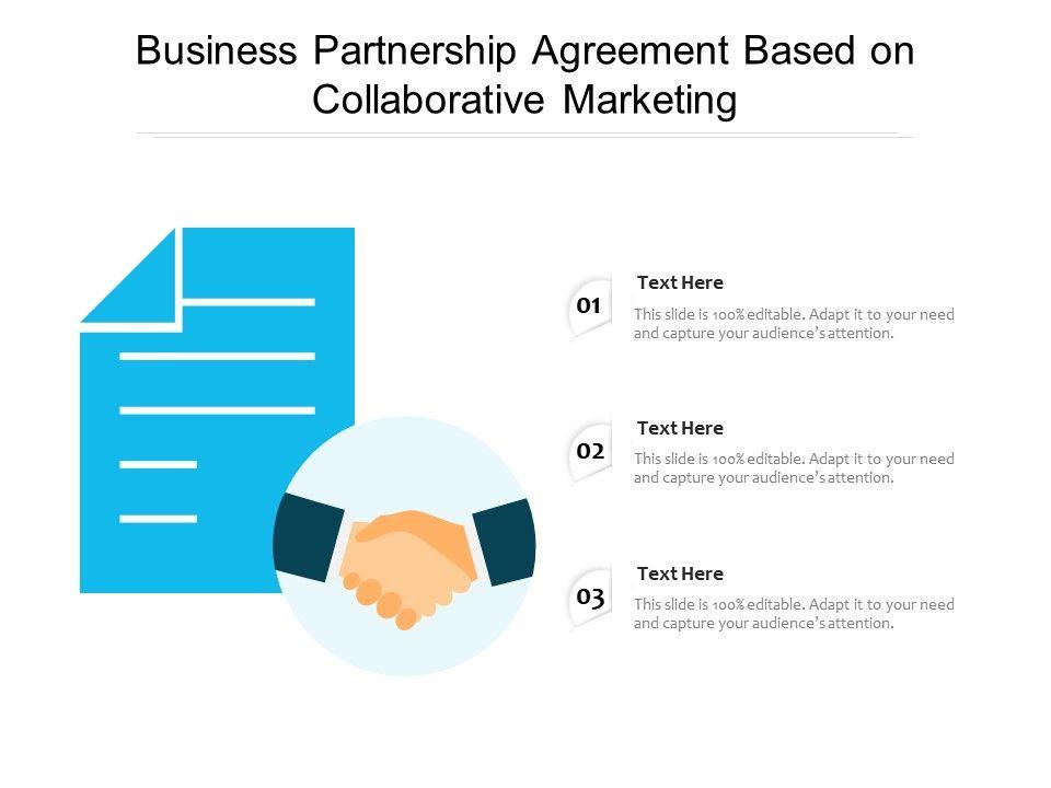 Marketing Partnership Agreement Template from www.slideteam.net