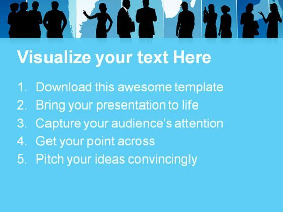business people global powerpoint templates and powerpoint, Modern powerpoint