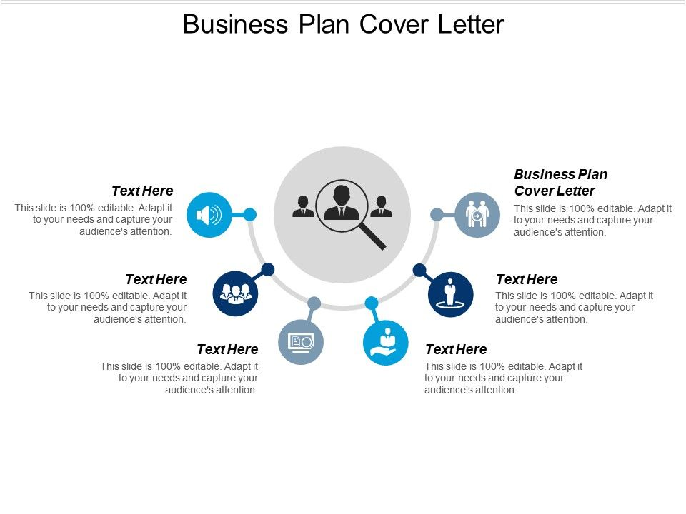Business Plan Cover Letter Ppt Powerpoint Presentation File