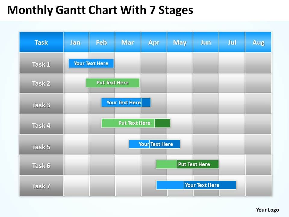 business_plan_outline_gantt_chart_with_7_stages_powerpoint_templates_ppt_backgrounds_for_slides_0617_Slide01