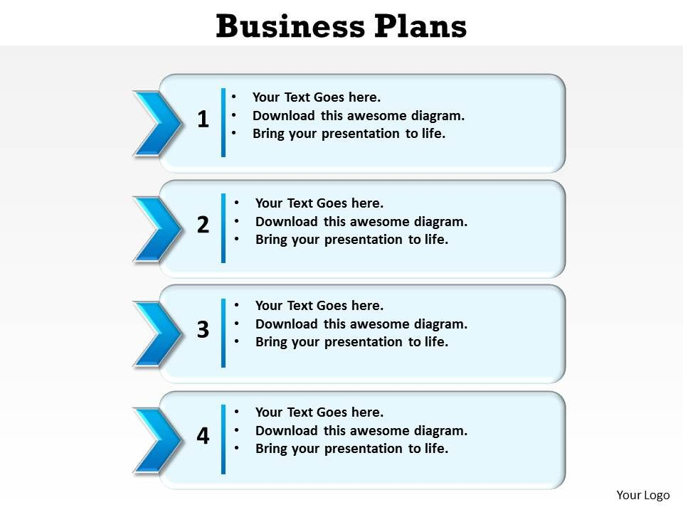 Bullet point business plan