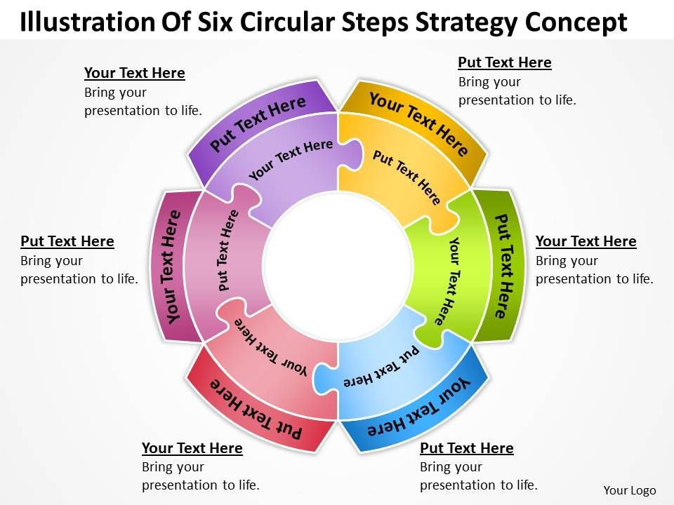 business_powerpoint_examples_of_six_circular_steps_strategy_concept_templates_Slide01