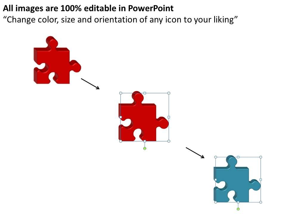 business powerpoint templates 2 missing strategy puzzle piece