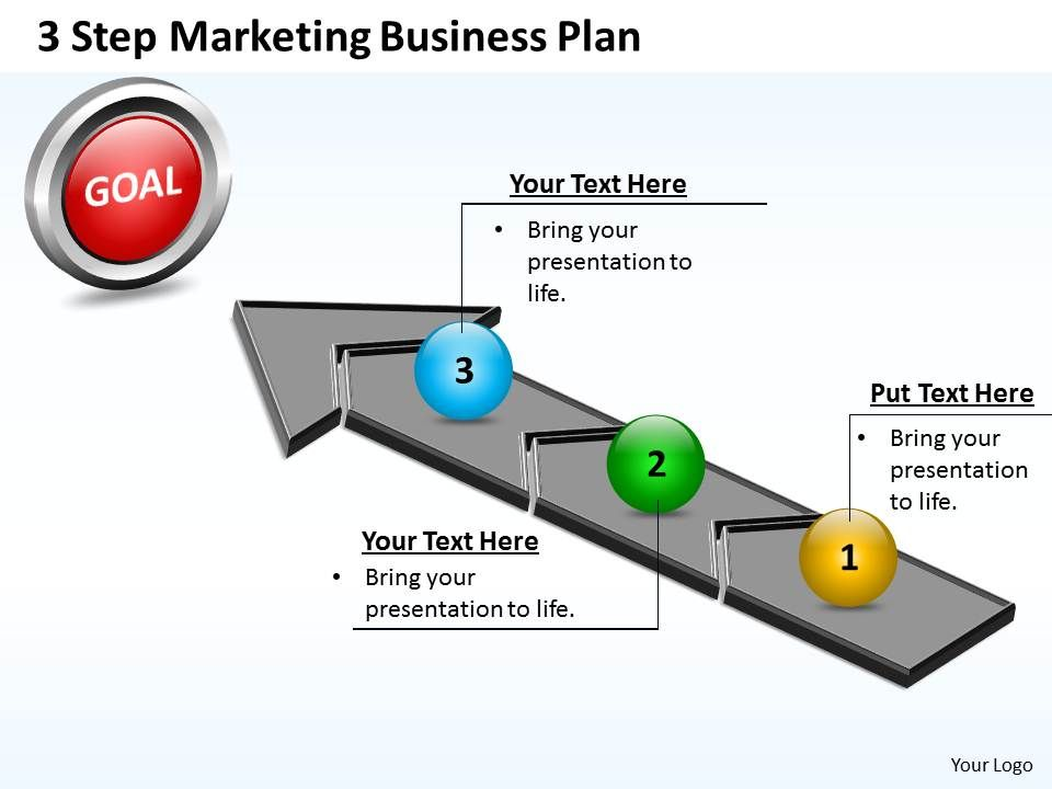 marketing slides