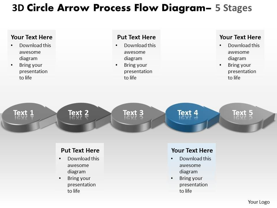Diagram process flow diagram ppt template : Business PowerPoint Templates 3d circle arrow process flow ...