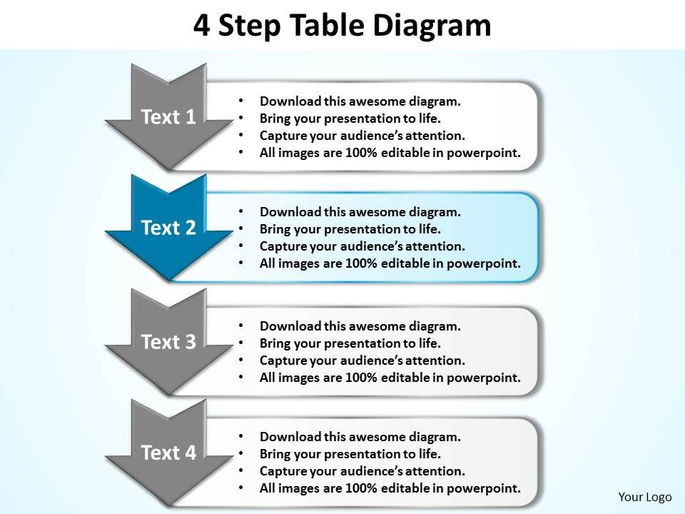 Business powerpoint templates 4 step table diagram editable sales businesspowerpointtemplates4steptablediagrameditablesalespptslides5slide03 ccuart Image collections