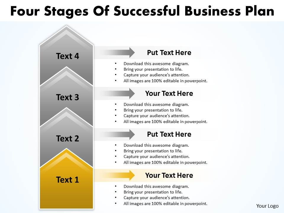 business powerpoint templates four state diagram ppt of successful    business powerpoint templates four state diagram ppt of successful plan  s slides   stages slide