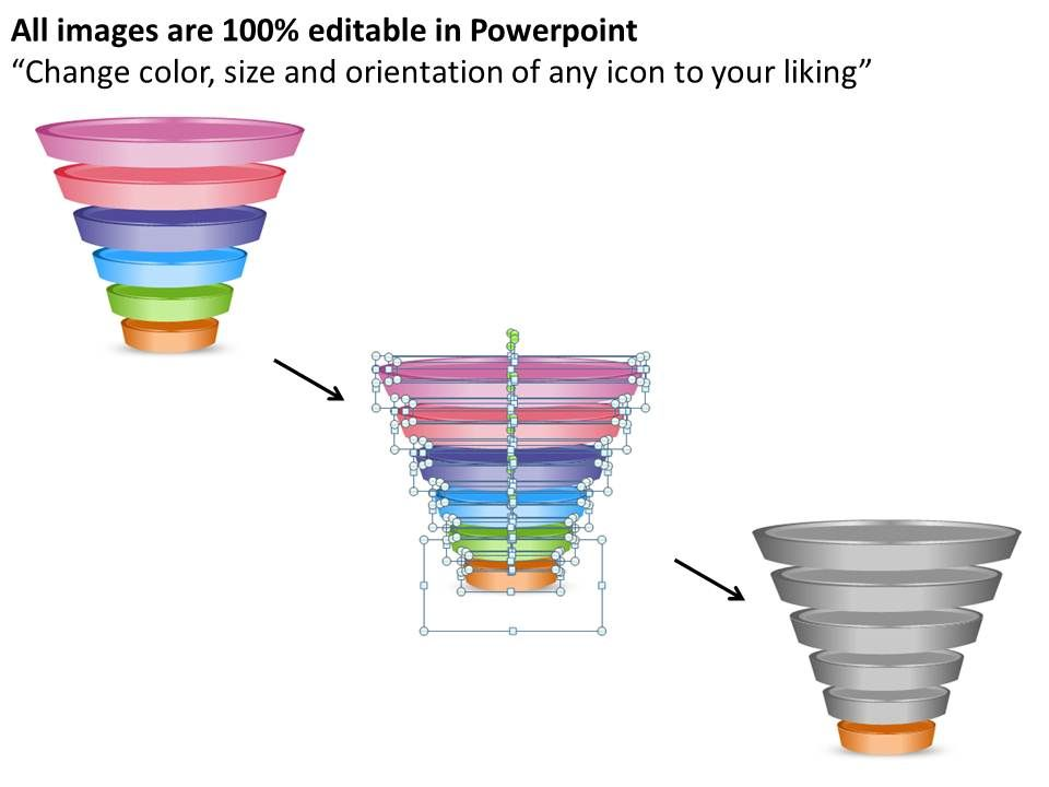 sales funnel powerpoint template Success
