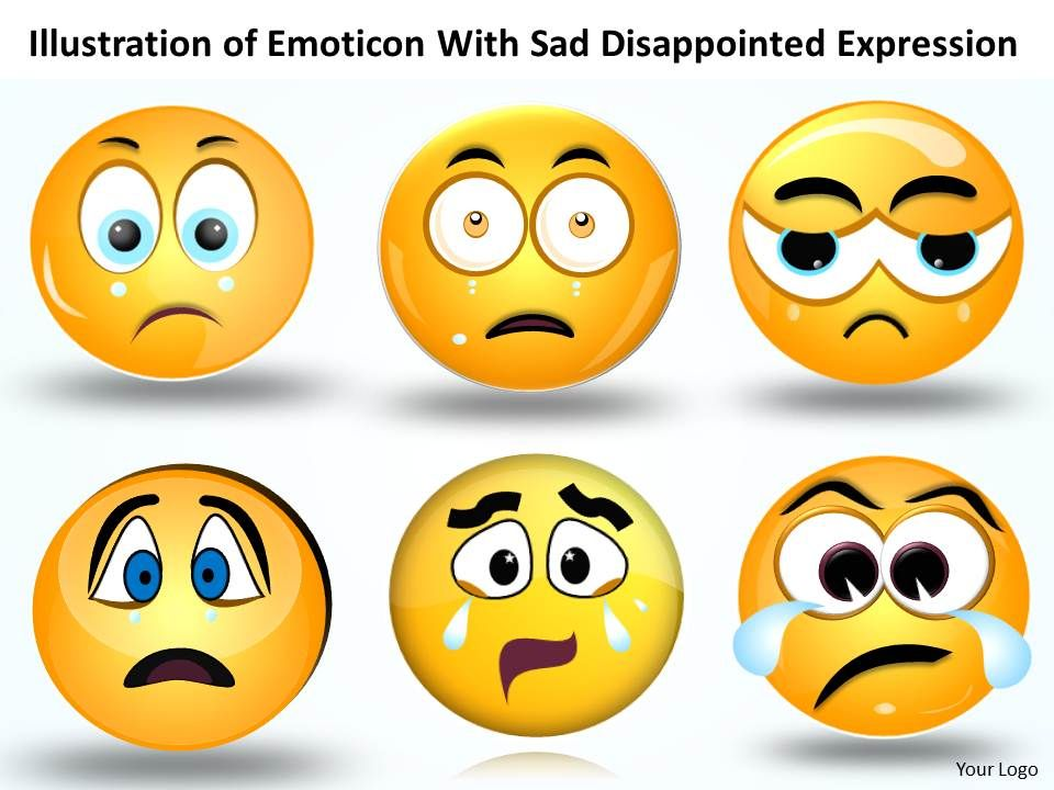 Business Powerpoint Templates Illustration Of Emoticon