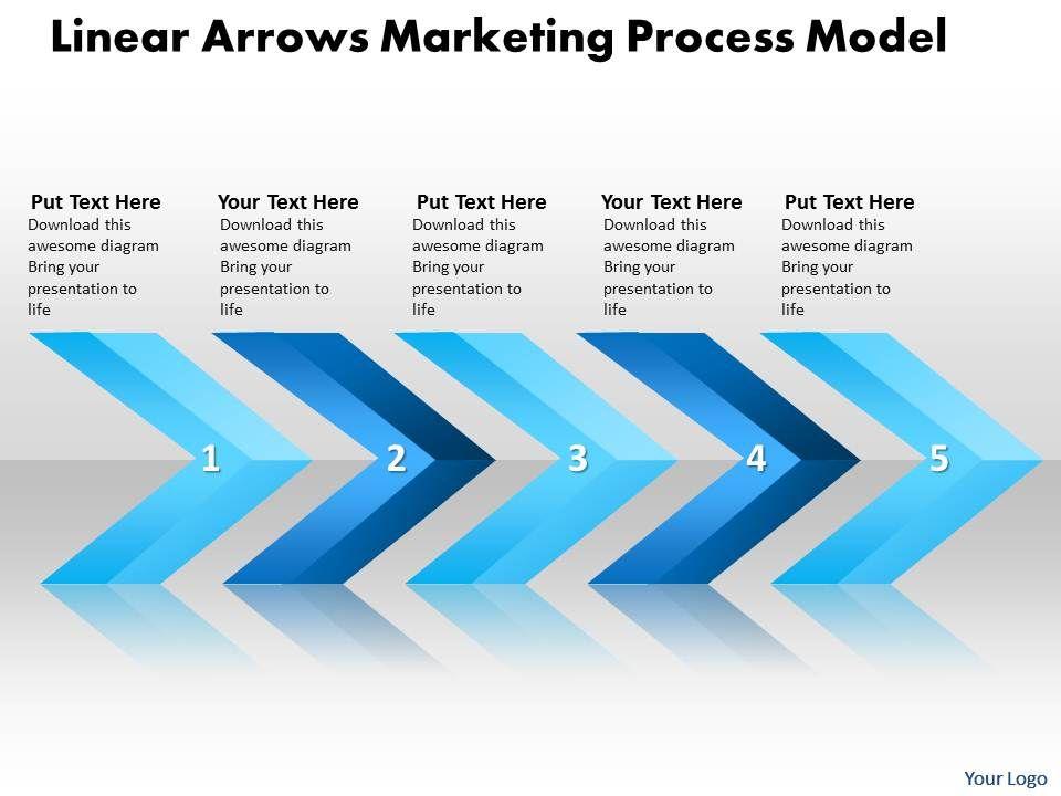 Business powerpoint templates linear arrows marketing process model businesspowerpointtemplateslineararrowsmarketingprocessmodelsalespptslidesslide01 toneelgroepblik Gallery