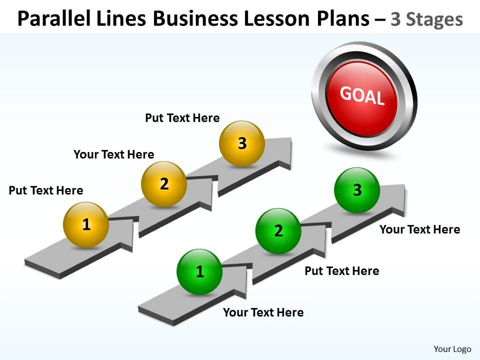 Business Powerpoint Templates Parallel Lines Lesson Plans Sales Ppt
