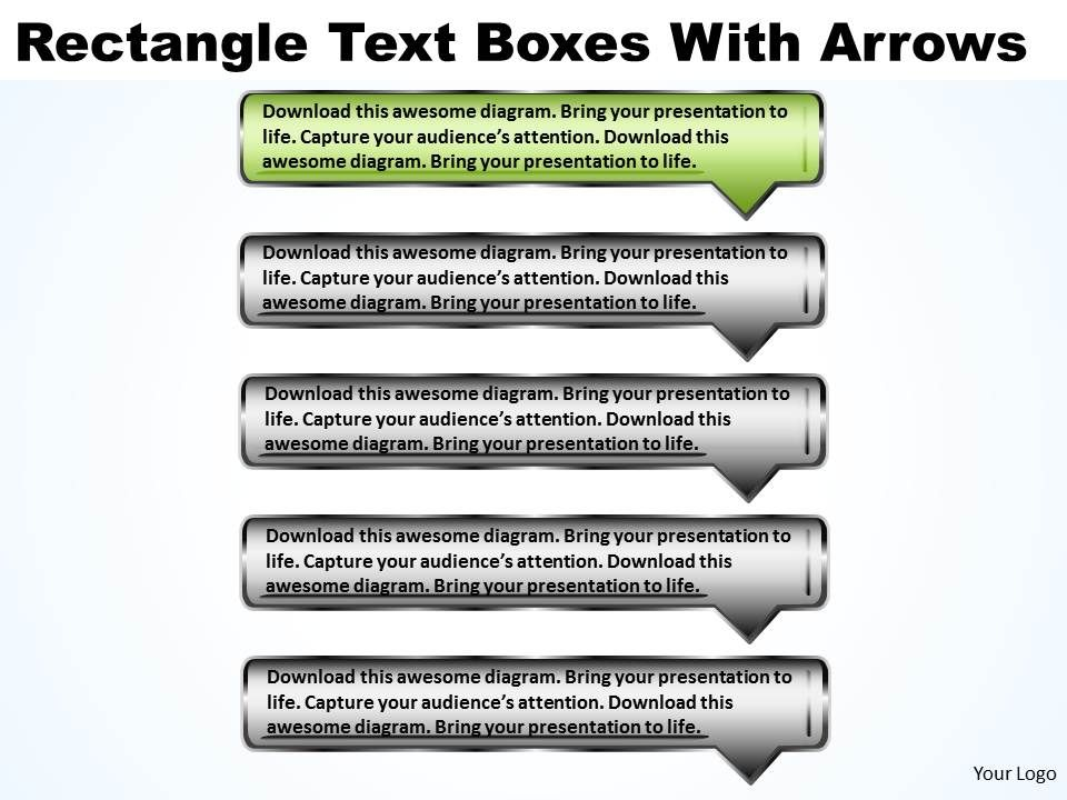 how to write text in rectangle in html