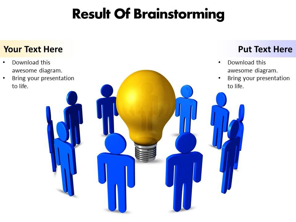Business powerpoint templates result of brainstorming editable businesspowerpointtemplatesresultofbrainstormingeditablepowerpointtemplatesslide01 ccuart Choice Image