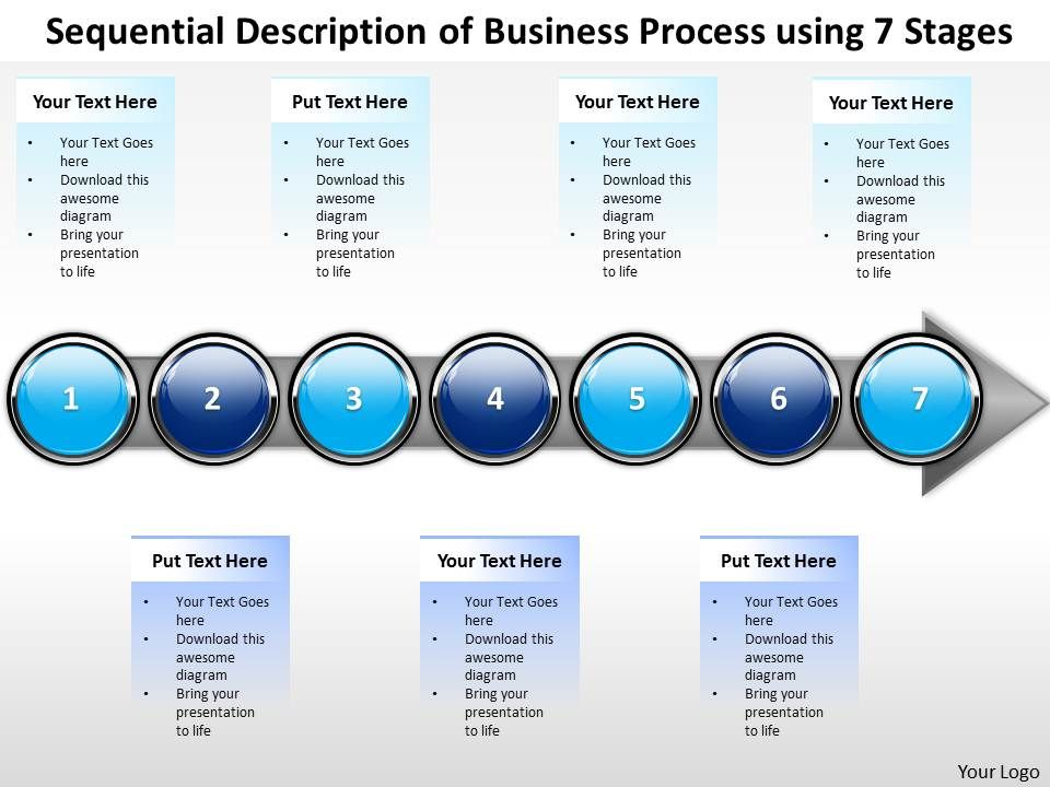 Business powerpoint templates sequential description of process businesspowerpointtemplatessequentialdescriptionofprocessusing7stagessalespptslidesslide01 ccuart Images