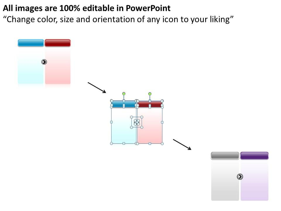 Business Powerpoint Templates Simple 4 Stage Circular Process