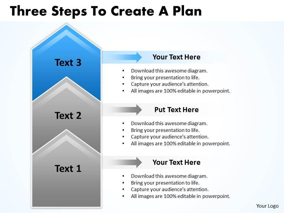 sales business plan template ppt latin