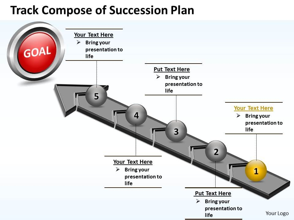 Business Powerpoint Templates Track Compose Of Succession Plan